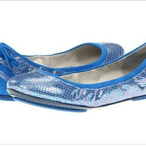 Maria Sharapova for Cole Haan iridescent blue 8.5